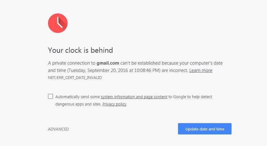 Cách Xử Lý Lỗi Không Vào được Gmail