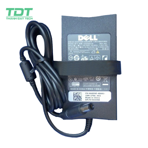 Sạc Laptop Dell 19.5V-3.34A (Slim)